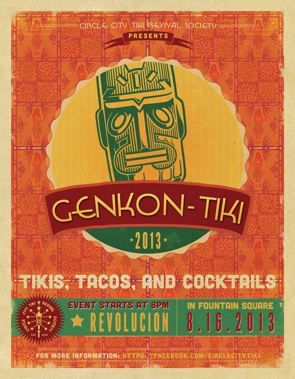 GenKon-Tiki: August 16th 2013 at Revolucion