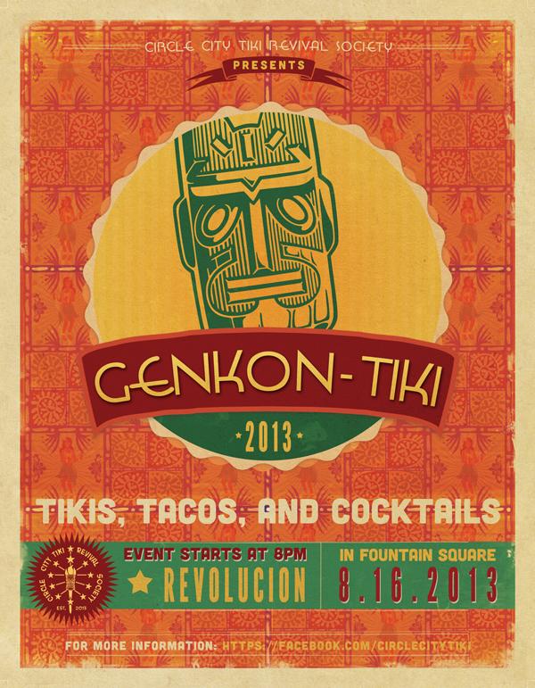GenKon-Tiki: August 16th 2013 at Revolucion